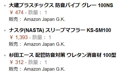 Amazon 防音スリーブ