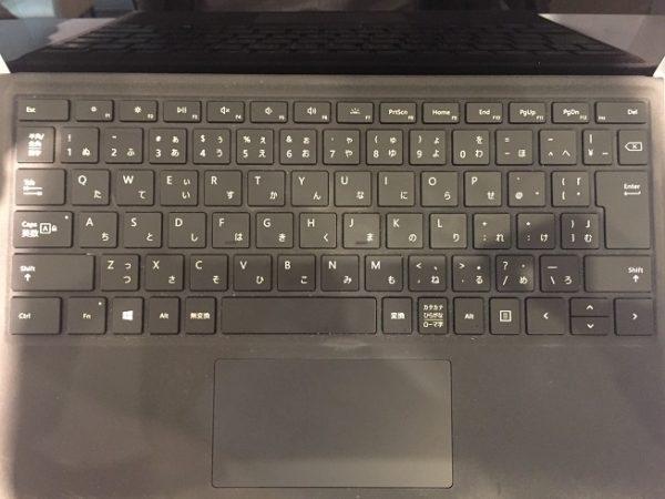 Surface Pro純正キーボード