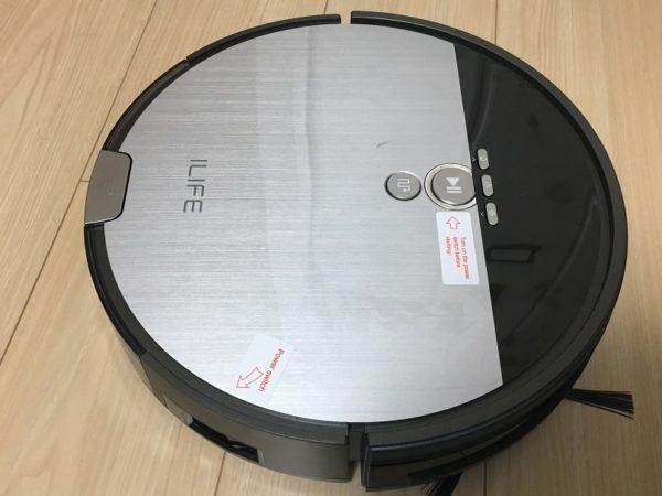 ILIFE社のロボット掃除機『V8s』