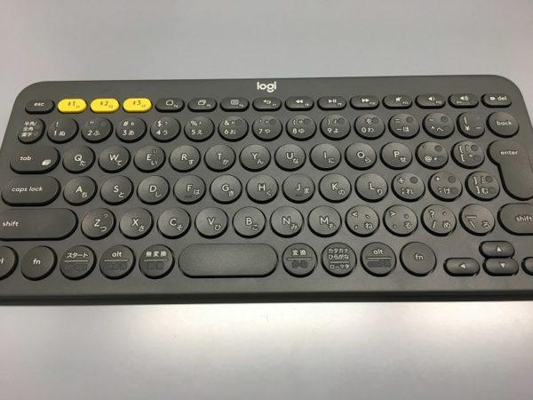 ロジクールのBluetoothキーボードK380BK